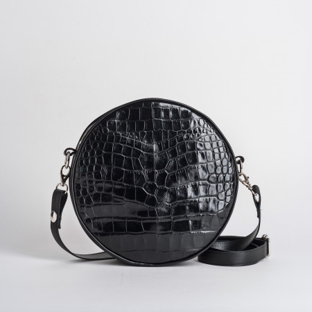 SAC CALIOPE CROCO/CUIR