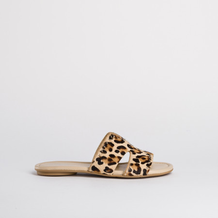 sandale fourrure femme - reqins