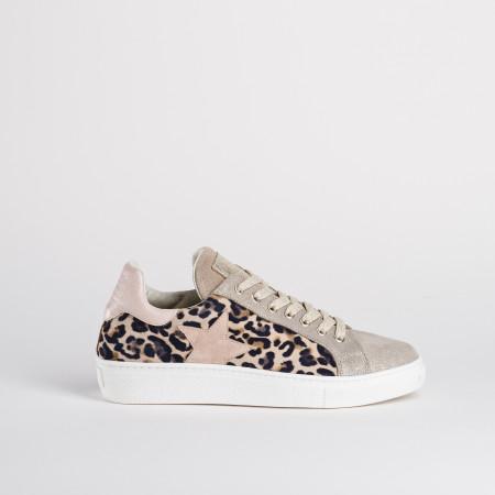 basket motif leopard femme - reqins