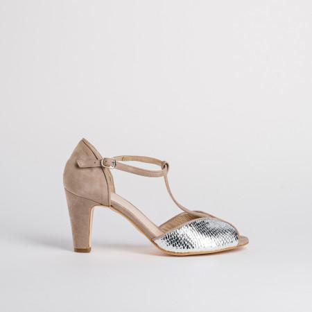 sandales à petit talon - reqins