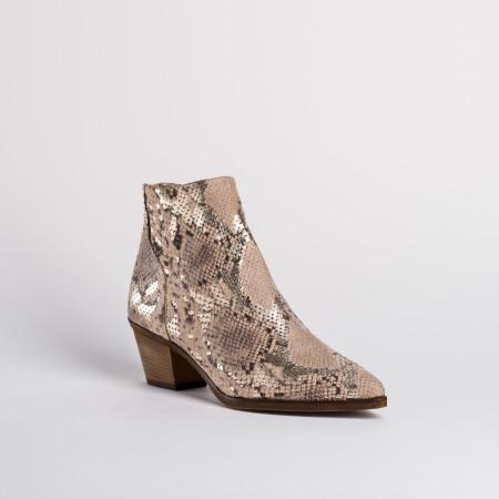 boots femme python - reqins