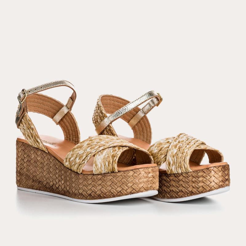 sandale en osier - reqins