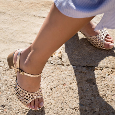 sandales à talon confortable - reqins