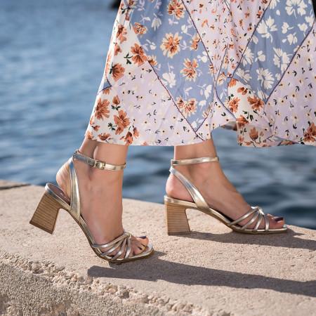 sandales à talon parfaite - reqins